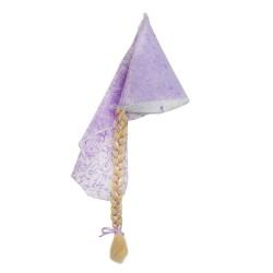 Καπέλο Ραπουνζελ με πλεξούδα