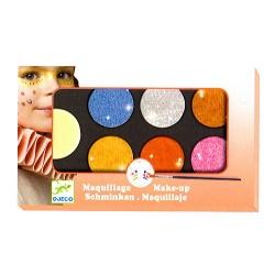 Παλέτα μακιγιάζ 6 χρώματα «ΜΕΤΑΛΛΙΚΑ»