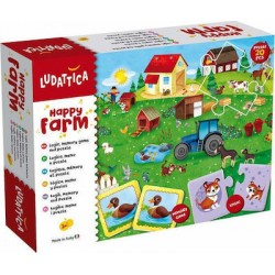 Ludattica  Happy Farm 20 Κομμάτια