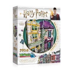 ΠΑΖΛ 3D HARRY POTER - MADAM MALKIN'S AND FLOREAN FORTESCUE'S ICE CREAM