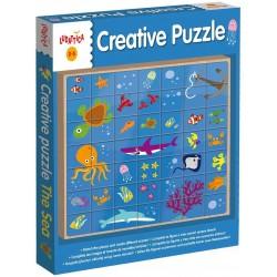Ludattica Creative Puzzle (μωσαϊκό)-Θάλασσα
