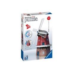 ΠΑΖΛ Ravensburger 3D Puzzle Windmill 216 Κομμάτια