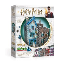 ΠΑΖΛ 3D HARRY POTER - OLLIVANDER'S WAND SHOP AND SCRIBBULUS