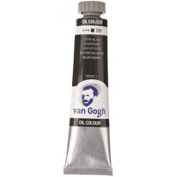 ΛΑΔΙΑ VAN GOGH 20ML. T.7 NO. 701 IVORY BLACK