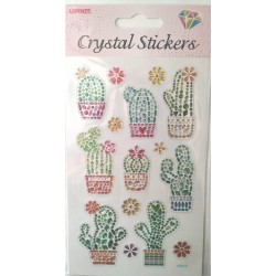 CRYSTAL STICKERS Κάκτος