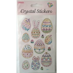 CRYSTAL STICKERS Πασχαλινά Αυγά