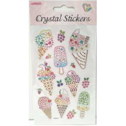 CRYSTAL STICKERS Παγωτό