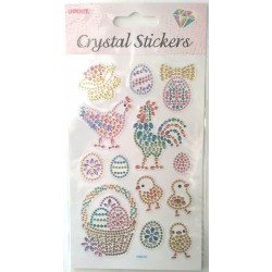 CRYSTAL STICKERS Κοκοράκια