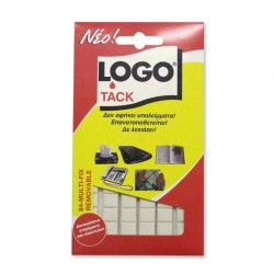 Αυτοκόλλητα Διπλής Όψης Logo Tack 84 Τεμάχια