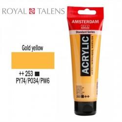 ΑΚΡΥΛΙΚΟ AMSTERDAM 120ML No 253 GOLD YELLOW