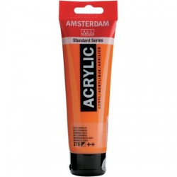 ΑΚΡΥΛΙΚΟ AMSTERDAM 120ML No 276 AZO ORANGE