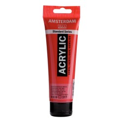 ΑΚΡΥΛΙΚΟ AMSTERDAM 120ML No 317 TRANSPARENT RED MEDIUM