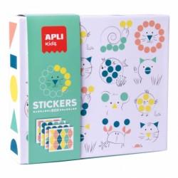 STICKERS BOX - ANIMALS