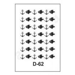 STENCIL 20X30CM ARTEBELLA D-62