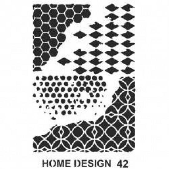 STENCIL 35X50CM HOME DESIGN ARTEBELLA KOD 42