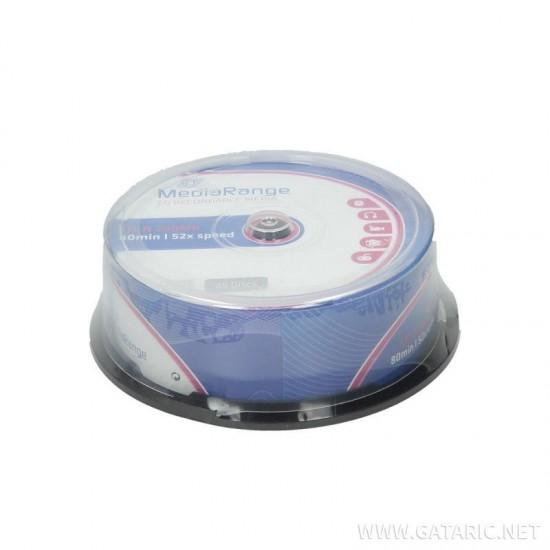 CD-R 80MIN MEDIARANGE 25ΤΜΧ