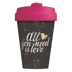 "ΠΟΤΗΡΙ BAMBOO ""ALL YOU NEED IS LOVE"" 400ML"