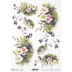 ΡΙΖΟΧΑΡΤΟ ΝΤΕΚΟΥΠΑΖ ART COLLECTION Α4 FLOWERS