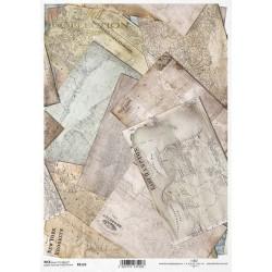 ΡΙΖΟΧΑΡΤΟ ΝΤΕΚΟΥΠΑΖ ART COLLECTION Α4 OLD MAP 2