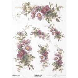 ΡΙΖΟΧΑΡΤΟ ΝΤΕΚΟΥΠΑΖ ART COLLECTION Α4 FLOWERS DAISIES