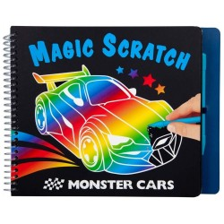"MAGIC SCRATCH ""MONSTER CARS"""
