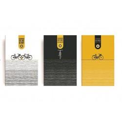 Σετ Δώρου 3 Μικρά Σημειωματάρια makeNOTES Cycling