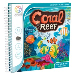 "SMARTGAMES ΕΠΙΤΡΑΠΕΖΙΟ ΜΕ ΠΑΖΛ ΜΑΓΝΗΤΑΚΙΑ ""CORAL REEF"""