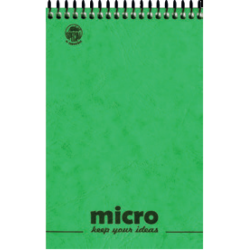 ΜΠΛΟΚ ΣΗΜΕΙΩΣΕΩΝ PRESSBOARD MICRO 2Θ 160Φ 9X12CM