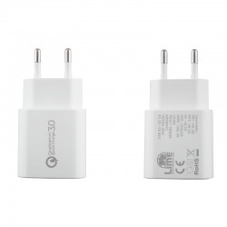 USB 3.0 FAST TRAVEL CHARGER 21W 4000mA ΛΕΥΚΟ
