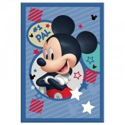 Τετράδιο Καρφίτσα 40 Φύλλων Mickey 17X24